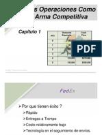 Chapter 1 Las Operaciones Como Arma Competitiva (1)