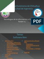 Software Libre Equipo 14