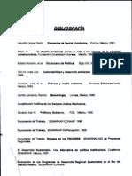 Bibliografia Progrmas de Desarrollo Sustentable