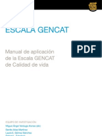 Escala Gen Cat Manual Cast