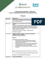 INO - IB Forum - Agenda (12 Oct)