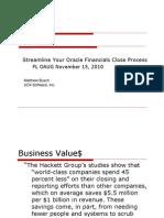 Streamline Your Financial Close