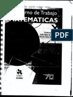 Cuaderno de Matematicas 6