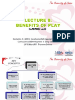 Lecture 8 Benefits of Play
