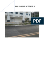 Additional Parking at Tower d