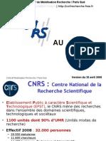 Du CNRS Au CNRS