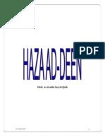 Haza Ad Deen Syed Qutb