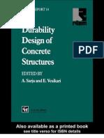 Durability Design of Concrete Structures