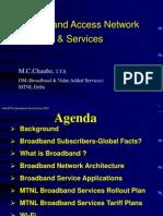 Broadband PPT Presentation MTNL BSNL