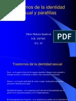 Trastornos de La Identidad Sexual y Parafilias
