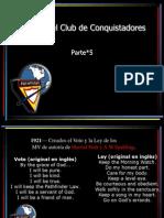 5_Ideales Del Club de Conquistadores