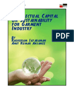 Intellectual Capital on Sustainability for Garment Industry