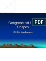 geographical land shapes