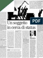 L'universalismo delle differenze. Intervista con Alain Touraine - il Manifesto 15.03.2013