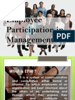 Employee Participation in Management