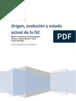 Origen, Evolucion y Estado Actual de Ing. Sistemas Computacionales