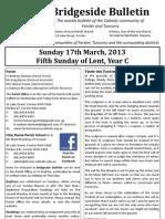 2013-03-17 - 5th Lent Year C