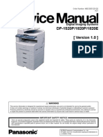 Dp-1820_1520 service manual | image scanner | fax.