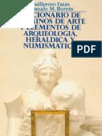 Varios - Diccionario de Términos de Arte, Arqueología, etc.
