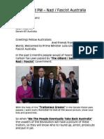 Julia Gillard PM - Nazi Fascist Australia