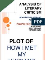 Analysis of Literary Criticism