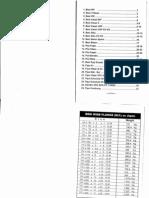 Steel Properties Table