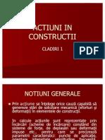 Actiuni in Constructii