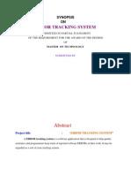 Error Tracking System1
