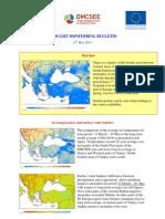 DMCSEE Drought Bulletin May2011