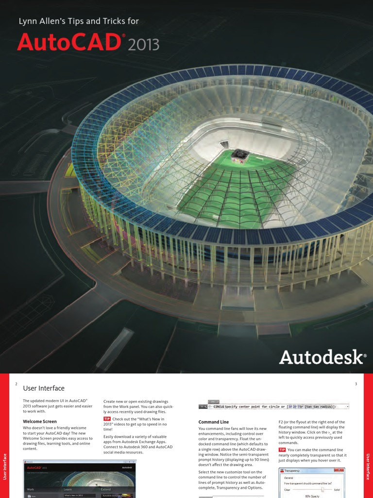 Autocad 2013 tips and tricks auto cad autodesk baditri Image collections