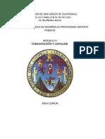 Módulo IV Comunicación y lenguaje ciclo común -Ajustado.docx