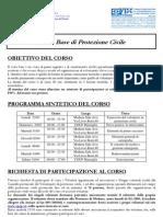 Corso Base di Protezione Civile - Sede Modena