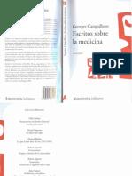 Canguilhem, Georges - Escritos Sobre La Medicina [2002]
