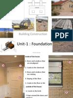 Unit I - Foundation