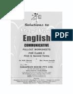 Me n Mine English x 2ndanswer Book
