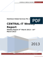 Central IT Weekly Report - 11 March 2013.doc
