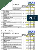 Standard Lecture Plan (TT6)