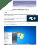 Procedura Activare Microsoft Office 2010
