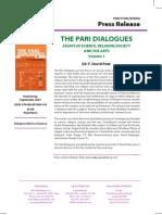 """The Pari Dialogues"" Press Release"
