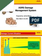 ASRS Damage February 2013 2