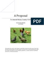 A Proposal to Amend Henry County ULDC