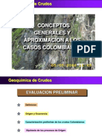 Geoquimica de Crudosfin 2005