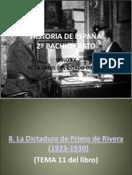 HISTORIA DE ESPAÑA TEMA 8
