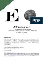 47260291 E of the E Symbol Engraven Over the Gate of Apollos Temple at Delphi