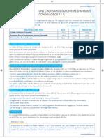 Cp Resulats Financiers 2011 Centrale Laitiere