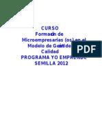 MODELO DE GESTIÓN DE CALIDAD PARA LA MICROEMPRESA