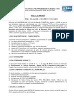 Edital-049-13 Seleção bolsistas extensão