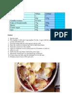 Dessert - Queen of Puddings