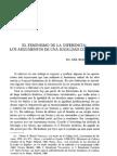 El Feminismo de La Diferencia Los Argumentos de Una Igualdad Compleja. Ana Rubio Castro