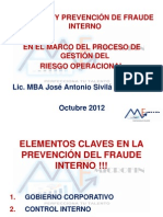 Diapositivas Fraude Interno